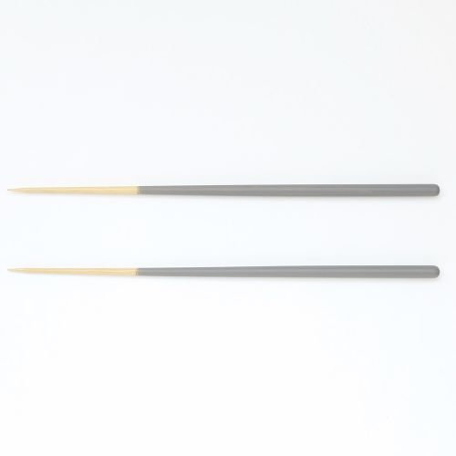 箸 STIIK スティック 2膳セット / ミディアムグレー (KURA / クラ)