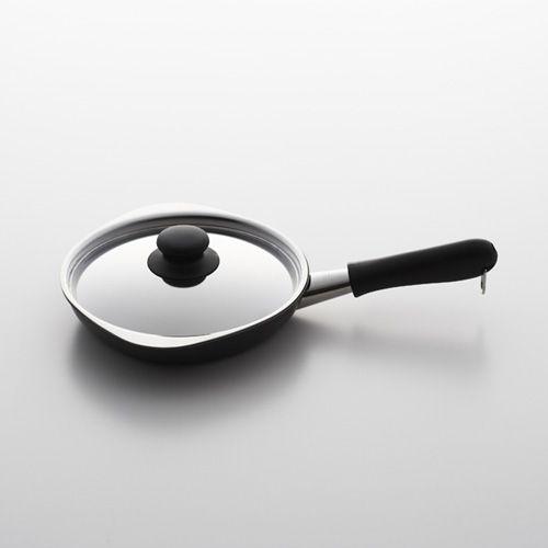 鉄フライパン マグマプレート / 18cmフタ付き (柳宗理 / Yanagi Sori)