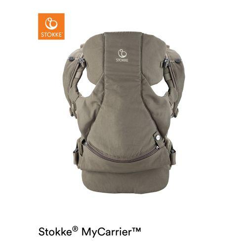 マイキャリア フロント&バック コットン / ブラウン (MyCarrier・Stokke / ストッケ)