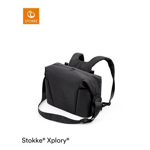 ストッケ エクスプローリー X チェンジングバッグ / リッチブラック (Xploly X・Stokke / ストッケ)