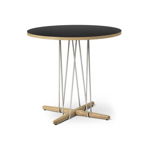 E020 エンブレイステーブル φ79.5cm ブラック / オーク材 オイルフィニッシュ (Carl Hansen & Son / カールハンセン&サン)
