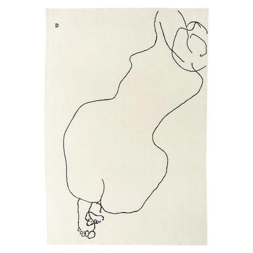 Chillida Figura humana 1948 ラグマット チリーダ フィグラウマナ1948 / 200×293cm (nanimarquina / ナニマルキーナ)