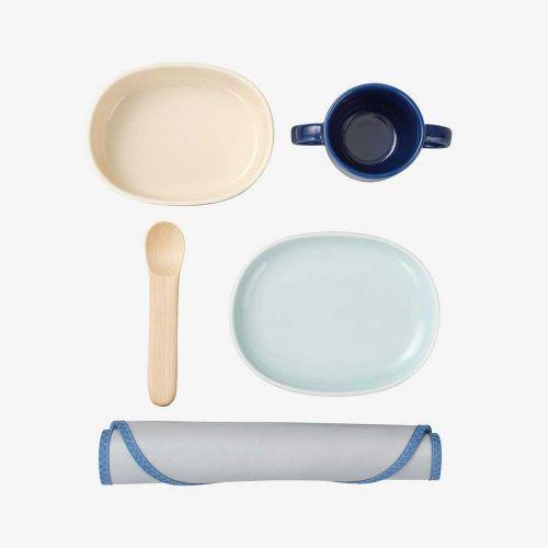 ベビー食器セット / ウッドバイオレット (NUPPU / ヌップ)