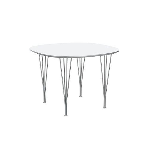 スーパー円テーブル ホワイト W100×D100cm / Super Circular B603 (Fritz Hansen / フリッツ・ハンセン)
