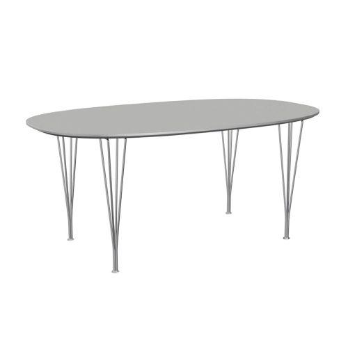 スーパー楕円テーブル グレーエフェソ W170×D100cm / Super Ellipse B616 (Fritz Hansen / フリッツ・ハンセン)