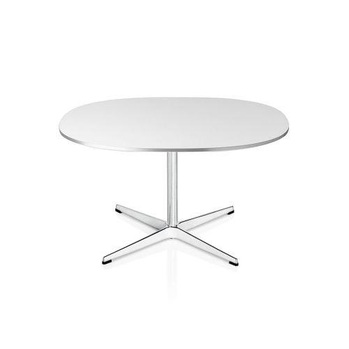 スーパー円コーヒーテーブル / A202 ホワイト W75×D75cm (Fritz Hansen / フリッツ・ハンセン)