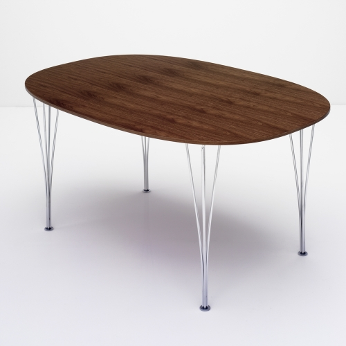 スーパー楕円テーブル ウォールナット W150×D100cm / Super Ellipse B612 (Fritz Hansen / フリッツ・ハンセン)