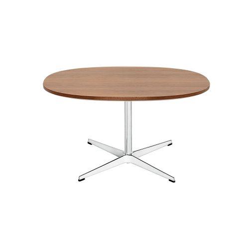 スーパー円コーヒーテーブル / A202 ウォルナット W75×D75cm (Fritz Hansen / フリッツ・ハンセン)