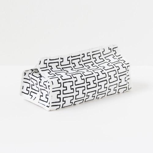 ティッシュケースカバー / H55・グレー (tente × artek)