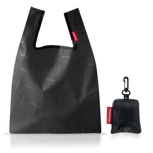 【在庫限り】エコバッグ ミニマキシショッパー XS / Hotstamp black (reisenthel / ライゼンタール)