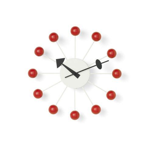 ボールクロック レッド / Ball Clock (vitra ヴィトラ)