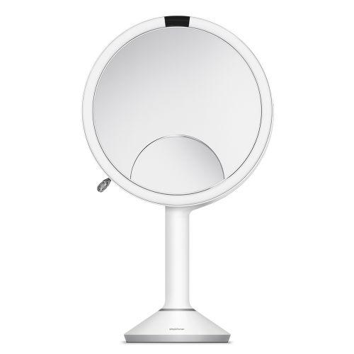 センサーミラー トリオ / ホワイト ST3038 拡大鏡1倍・5倍・10倍 (Simplehuman / シンプルヒューマン)