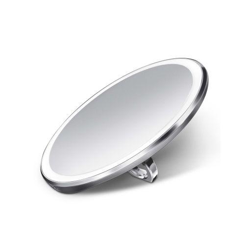 センサーミラー コンパクト / シルバー ST3025 拡大鏡3倍 (Simplehuman / シンプルヒューマン)