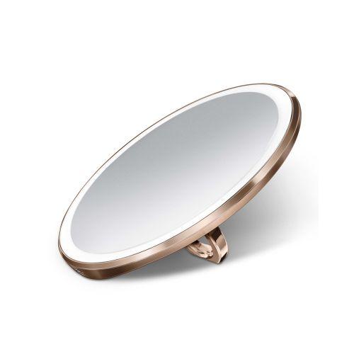センサーミラー コンパクト / ローズゴールド ST3031 拡大鏡3倍 (Simplehuman / シンプルヒューマン)