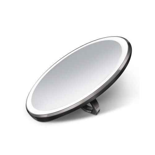 センサーミラー コンパクト / ブラック ST3030 拡大鏡3倍 (Simplehuman / シンプルヒューマン)