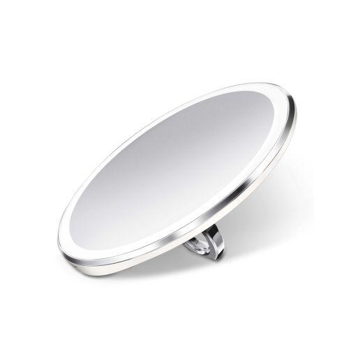 センサーミラー コンパクト / ホワイト ST3037 拡大鏡3倍 (Simplehuman / シンプルヒューマン)