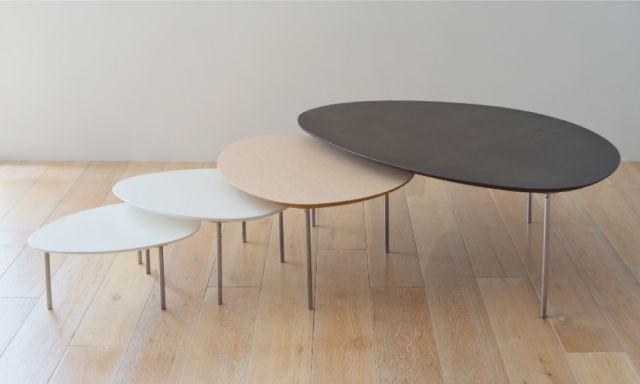 日食を意味するエクリプス。ネストセンターテーブルです
