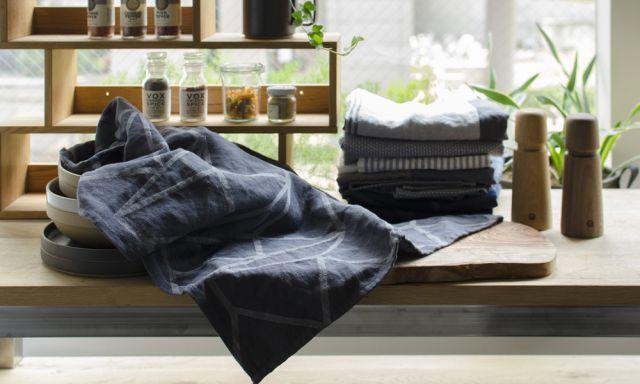 歴史ある、デンマークの誇り高き製織技法から誕生したティータオル