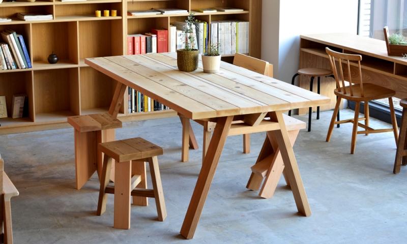 コボテーブル / ベンチ